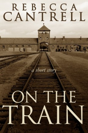 Cover for On the Train--the gates of Auschwitz
